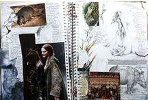 INSPIRATION // Mood board & Sketch book