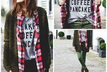 Fashion   style   Autumn   Winter