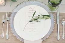 Tablescapes & Place Settings / Gorgeous inspiration to set the chicest of tables from Holden Bespoke