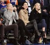 Celebrities at N.Y. Knicks games / Celebrities LOVE the N.Y. Knicks. UPI photographers found them cheering on the team at Madison Square Garden in New York City.  MORE: http://upi.com/3177291