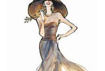 fashion sketch / illustration