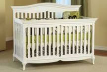 The Mantova Collection / Full of artistic styling and detail, this is a crib that does not go unnoticed. With a curved top molding and delicately curved cutouts adorning both the head and footboards, this piece is designed to be a beautiful crib. Available in White
