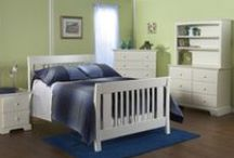 The Emilia Forever Crib / The Emilia Region of Northern Italy is known for its rich history of royalty and luxury and was the inspiration for the Emilia Forever Crib. The crib is designed to grow with your child, and the classic styling will look wonderful in your child's room as the crib transitions into a bed for your toddler and later into a full-sized bed. Available in Slate, White, Vintage Cherry & Mocacchino