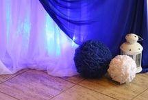 Синяя свадьба / Декор свадьбы в синем цвете