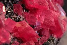 Pink and red gems