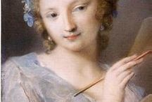 """Zyla - Iridescent Summer - Mysterious Mermaid / """"I can help you make your dreams come true."""" Low contrast shades, delicate color palette (Rosalba Carriera), iridescent effects. Iridescent chiffon, pearlized leather, crewel knot, delicately embroidered calf - translucent, shimmery fabrics."""