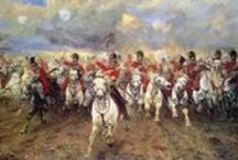 British Napoleonic period cavalry regiments