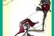 moszaic's drawings / Σκιτσάκια