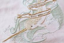 Embroidery / Patterns & Inspiration / by Gwendellyn H