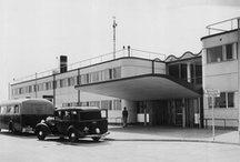 From the Airport Archives / Founded in 1925, Copenhagen Airport was one of the first civil airports in the world.   The airport was an attraction in itself, also for the many people who did not have the opportunity to fly.  In 1939 World War II broke out and temporarily stopped the growth of the airport.  But when the war ended in 1945, Copenhagen Airport was ready for tremendous growth, and things have developed quickly since then.