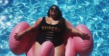PLUS SIZE SWIMWEAR / Plus size swim wear inspiration