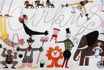 We love the circus! / A collection of our favorite circus posters, illustrations, toys and more.