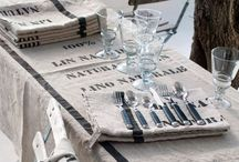 A table! / Table settings, tablescapes, tabletop decor -- what you call them is of course less important than the meals and occasions they adorn.