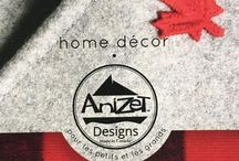 AniZet Designs / Art for your every day. Handmade in Canada with natural materials and through eco-friendly means wherever possible.