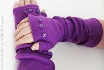 Handschuhe, Schals und sonstige Kleidung selbstgemacht