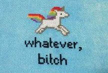 cross stiching / cross- stitching inspirations
