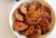 Snacks crunchy munchy / by Chani.R. Chawda