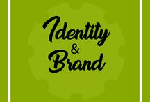 Identity & Brand / Logos,naming, branding, sub-brands, and icon systems.