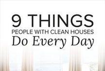 Organizing Ideas / Organization | Organization ideas | How to stay organized | how to keep the house organized