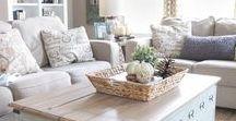 Home Decor: Living room / Living Room | Living room decor ideas | Living room decoration | Living room designs | Farmhouse living room