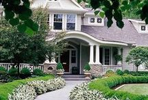 Outdoor Ideas / Front yard designs | Plants for front yard | How to design a front yard | landscaping | landscape design | curb appeal