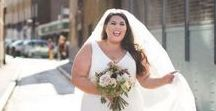 PLUS SIZE WEDDING DRESSES / Inspiration for plus size bride to be's