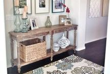 Home Decor: Entryway / Decor ideas and inspiration | Tips on how to style an entryway | perfect entryway ideas