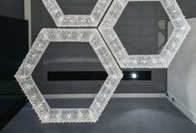 SU / Each chandelier is unique and an individual creation. Perfect choice for the lobby, living room or above the dining table. You can order Rose as pendant or ceiling lamp. You can choose transparent or colored crystal combination in standard sizes or according to your needs. www.manooi.com