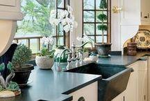 Home Decor: Kitchen / Kitchen design | kitchen layout | kitchen inspiration | kitchen decor ideas | Farmhouse kitchen| how to design and decorate your kitchen