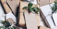 Rustic Christmas gift wrapping / beautiful Christmas gift wrapping | gift wrapping ideas for Christmas | Christmas Season | farmhouse christmas | rustic christmas gift wrapping