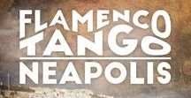 Flamenco Tango Neapolis / Design Logo e Album di Viento. Flamenco Tango Neapolis è un entusiasmante progetto artistico che unisce il flamenco, il tango argentino e la tradizione musicale napoletana in un'originale contaminazione di stili.
