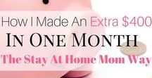 Make Money From Home / How to make money from home tips, online jobs, selling online, blogging, business, extra income ideas to make money from home fast. Learn to make money from home online and how to make a full-time income from home.