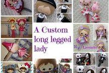 Harveyshouse Collectables / Just a few of my handmade collectable felt dolls Xx