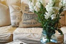 cottage, venkovský, rustikální styl