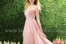 Peach, Lilac and Pale Pink Bridesmaid Dress Ideas / Peach, Lilac and Pale Pink