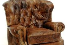 Leather Recliners & Recliner Chairs / Leather Recliners and recliner chairs that are in stock or custom made leather furniture for you.  Fine leather chairs from Bradington & Young, Wellington's and Leathercraft.