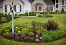 Landscaping...Let's get to it! / General landscaping.  Ideas for the front of the house and at the gate.  Also, from the gate to the side of the house.  Plants that can tolerate lots of water and little sun.