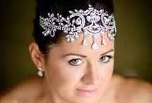 Bridal Hair - Headdress - Fascinator / Hair-ups - Bridal Headdress -  Hair pieces - Hair crowns