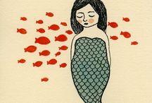 Peixes e sereias