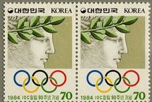 Love Olympic Stamps / by J. Chamberlain de Dzul