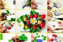 tutorial мастер классы / polymer clay  tutorial мастер классы / by Irina Ivanitskaya