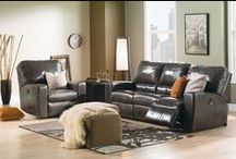 Reclining Leather Sofas / A fantastic assortment of modern furniture and traditional sofas that recline and incline.  Plenty of leather sofas to choose from are available from our leather furniture gallery.  Living room furniture sets that recline in many colors of leather.
