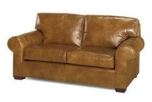 Leather Furniture Loveseats / Leather loveseats are smaller in size and work well in smaller furniture spaces.  Also, a nice addition to your leather sofa to complete your living room furniture set.  We specialize in custom made leather furniture so you choose the size.