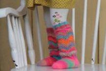 Socks and legwarmers ~ Sukkia ja säärystimiä / Socks and legwarmers ~ Sukkia ja säärystimiä