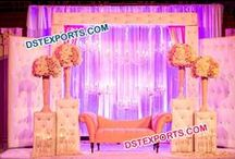 #WEDDING #BACKDROP #PANELS #DSTEXPORTS / We are manufacturing and exporting all types of wedding stages,wedding mandaps,Wedding stage backdrop panels,Wedding carriages etc.