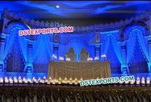 #Asian #Wedding #Stages #Dstexports / We are manufacturing and exporting all types of wedding decorations