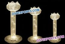 #Wedding #Aisleway #Pillars #Pedestals #Dstexports / we are manufacturing and exporting all types o wedding decorations.