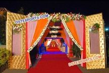 #Wedding #Welcome #Gates #Dstexports / We are manufacturing and exporter for all type of wedding decorations.