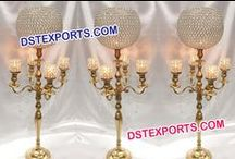 #Wedding #Crystal #Center #Pieces #Candlabras #Dstexports / We are manufacturing and exporter for all type of wedding decorations.