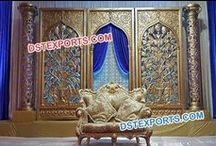 #Wedding #Stages #decorations #Dstexports / We are manufacturing and exporter for all type of wedding stage decorations.
